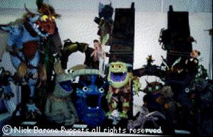 puppet exhibit